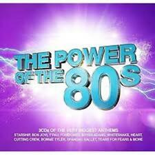 The Power Of The 80`s (3 CD Digipak) BRAND NEW & SEALED