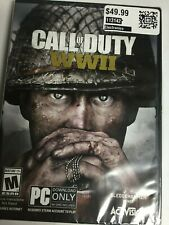 Call of Duty: WWII (PC, 2017, Activision) Brand New Factory Sealed! USA