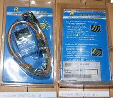 9raf0 IDE ROUND CABLES WIRE RED ROSSO PC MODDING NUOVO LUMINOSO 45CM