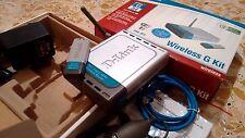 Wireless G Kit D-LINK DWL-922 54Mbps con router + adattatore usb OTTIME CONDIZ