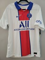 Nike PSG Paris Saint-Germain Vaporknit Match Away 2020-21 Jersey Size L