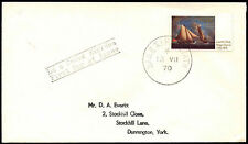 Ireland 1970 ROyal Cork Yacht Club FDC First Day Cover #C40169