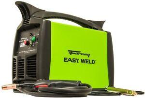 Forney Easy Weld  125FC Flux Core Welder, 120-Volt, 125-Amp