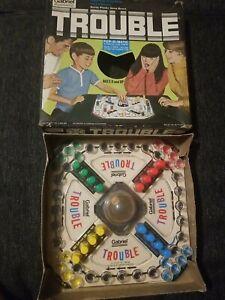 Vintage 1975 Gabriel Trouble Pop-O-Matic Game Complete
