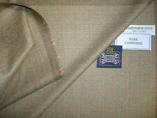 100% CASHMERE JACKETING/SUITING FABRIC MADE IN SCOTLAND – 2.02 m.
