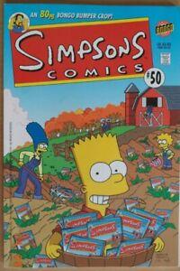 Simpson comics No.50 BONGO CANADIAN PRESS - SPECIAL