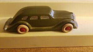 METAL 5IN SLUSH TOY CAR , RUBBER TIRES, UNKNOWN TOY MAKER