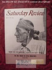 Saturday Review May 9 1959 American Indians RICHARD L. NEUBERGER RUST HILLS