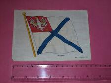 Poland BDV silk Godfrey Phillips large cigarette card B D V