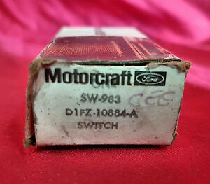 NOS Motorcraft Ford SW-983 D1FZ-10884-A Temperature Switch 75-76 Ford Pinto