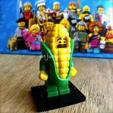 LEGO 71018 Minifigures SERIES 17 Corn Cob Guy #4 Minifig SEALED NEW mascot man