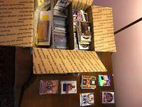 Huge Basketball Card Lot DADS Basketball Cards! GUARENTEED JERSEY/AUTOGRAPH Card