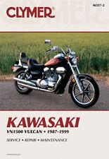 CLYMER REPAIR MANUAL Fits: Kawasaki VN1500C Vulcan L,VN1500A Vulcan 88,VN1500B V