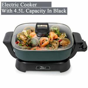 Uten Multifunction Electric Hot Pot Aluminium Cooker Frying Pan Manual Non-Stick