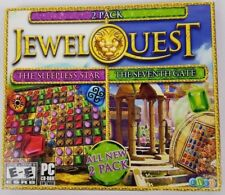 Jewel Quest The Sleepless Star 5 & Seventh Gate 3 PC Games Windows 10 8 7 XP NEW