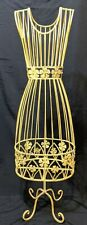 """Sturdy Metal Wire small Dress Form 31"""" Tall Display Mannequin Clothing"""
