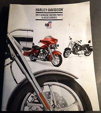 2012 HARLEY DAVIDSON PARTS & ACCESSORIES CATALOG HUGE MANUAL 850 PG  (392)