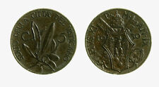 pcc2137_43) ROMA - Pio XI (1922-1939) - 5 Centesimi 1930