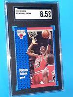 1991-1992 Fleer #29 Michael Jordan SGC 8.5 NM/MINT Brand New Case