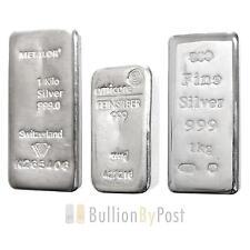 1 Kilo Silver Bullion Bar Best Value