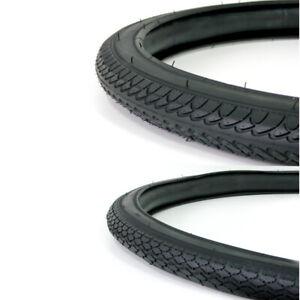 2x Fahrrad Reifen Fahrradreifen schwarz Trekkingprofil 20, 26, 28X1,75, 28X1,5