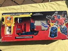 Transformers Vintage Optimus Prime Powermaster Autobot Boxed Original G1 1987