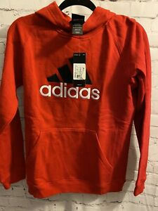 Adidas Sweatshirt Boys Large (14/16) Red. NWT