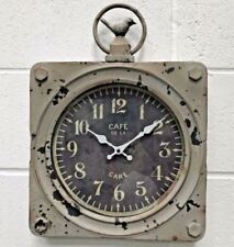 Unbranded Industrial Analogue Wall Clocks