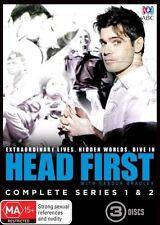 Head First : Series 1-2 (DVD, 2014, 3-Disc Set) Sabour Bradley BRAND NEW SEALED