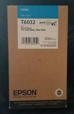 Epson Stylus Pro 7880/9880, T6032 Cyan