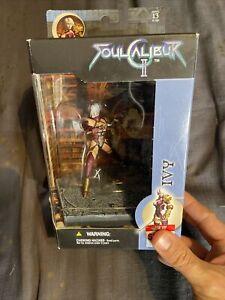 Soul Calibur 2 II Ivy Valentine Figure Soulcalibur McFarlane Toys Brand New 2003