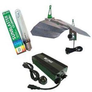 LUMii DIGITA 1000w Dimmable Ballast kit bulb and maxii shade
