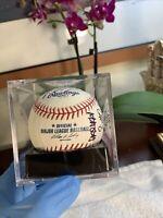 San Diego Padres Team Signed Official Major League Baseball RARE +Case