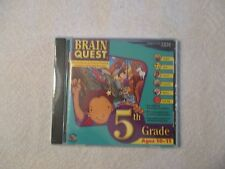 BRAIN QUEST 5TH GRADE AGES 10-11 CD-ROM (IBM 2006) - NEW