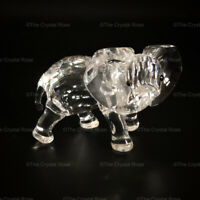 RARE Retired Swarovski Crystal Elephant Little 674587 Mint Boxed