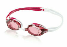 Speedo Vanquisher EV Goggle Expanded View Rose Petal Swim Goggles New with Tags