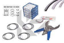 4x Piston Rings Repair Kit 800073810025+ 0.0098in Skoda VW Audi 1,8 2,0 TSI