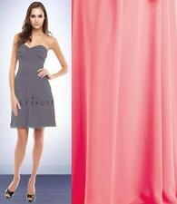 Bill Levkoff Bridesmaid Dress 158 Prom Wedding Short Gown Chiffon Strapless NEW