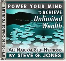 DR.STEVE G. JONES Clinical Hypnotherapist ACHIEVE UNLIMITED WEALTH HYPNOSIS CD