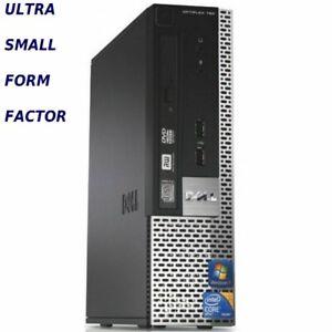 CHEAP DELL PENTIUM DUAL CORE PC COMPUTER  250/500HD 128SSD 4/8/16 GB RAM WIN7/10