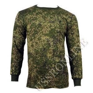 Russian Military Army Digital Flora Camo Long Sleeve T-Shirt