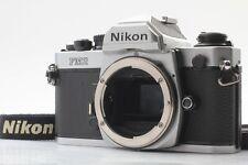 [Optics Mint] Nikon New FM2 Silver Late Model 35mm SLR Camera from Japan #0134