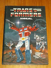 TRANSFORMERS 1986 MARVEL/GRANDREAMS BRITISH ANNUAL