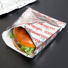 "Carnival King 6"" x 1"" x 6 1/2"" Large Hamburger Bag - 1000/Case"