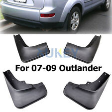 FOR MITSUBISHI OUTLANDER 2006 2007 2008  MUD FLAP FLAPS SPLASH GUARD MUDGUARDS