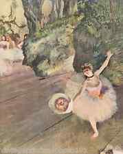 Dancer with Bouquet of Flowers by Degas 8x10 Print Ballet Star Ballerina Art 076