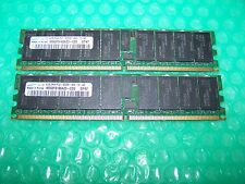 8GB Samsung 533MHz PC2-4200R CL4 DDR2 ECC Reg Server RAM (2x 4GB) for PC or SUN