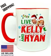 Live Kelly And Ryan Christmas Holiday 2020 Coffee Red Mug 11 oz