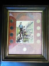 Framed *The Forty Niners* Liberty V Nickel Collection Makes a Great Holiday Gift
