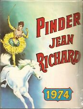 programme cirque Pinder Jean Richard 1974